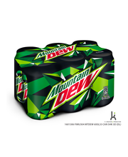 Mountain Dew 0,33l tölkki 6-pack