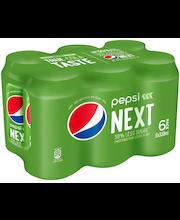 Pepsi Next 0,33l tölkki 6-pack