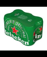 Heineken 5,0 % 6 x 0,3...
