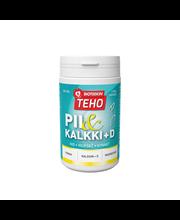 BIOTEEKIN TehoPii&Kalkki-D 300 tabl. Kalsiumia, magnesiumia ja piimaata sisältävä ravintolisä