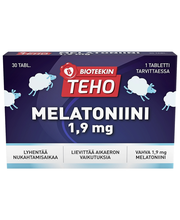 Melatoniini 1,9 MG 30 ...