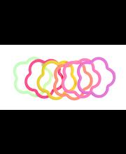 Ibero Hiuslenkki kukka 6kpl lasten