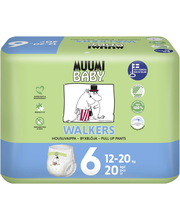 Muumi Baby Walkers koko6 12-20kg 20kpl housuvaippa