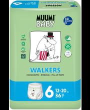 Muumi Baby Walkers koko6 12-20kg 36kpl housuvaippa