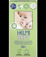 Helmi Baby kompostoituva liivinsuoja 30kpl valkoinen