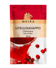 Meira Sitruunahappo 40g pussi