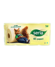 Serla Toilet WC-paperi 16 rl