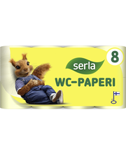 Serla Toilet WC-paperi yellow 8 / 40 rl