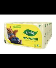 wc-paperi 8 rl keltainen