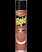 Raid 300ml muurahais-&torakka-aerosoli torjunta-aine