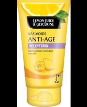 Lemon Juice & Glycerine 75g Anti-age käsivoide