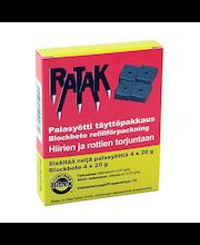 Ratak-palasyötti täyttöpakkaus 4x20g