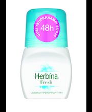Herbina 50ml Fresh Linum 48h roll-on antiperspirantti