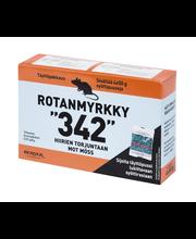 """""""342"""" 4x50g Rotanmyrkky hiirille, täyttöpakkaus"""