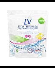 LV Color 16x20g kirjopyykin nestemäinen pyykinpesutabletti