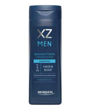XZ 250ml Men 2-in-1 rauhoittava shampoo
