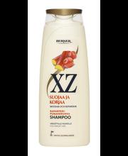 XZ 250ml Raparperi-Punaherukka shampoo värjätyille hiuksille