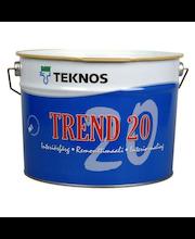 Remonttimaali Teknos Trend 20 PM1 9 l, puolihimmeä