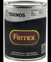 Ruosteenestomaali Ferrex 1 l valkoinen