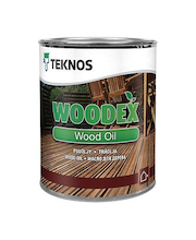 Puuöljy Teknos Woodex Wood Oil 0,9 l ruskea