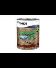 Puuöljy Teknos Woodex Aqua Wood Oil 0,9 l, ruskea
