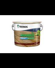 Puuöljy Teknos Woodex Aqua Wood Oil 2,7 l, ruskea