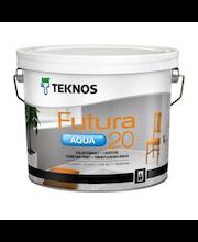 Ovi- ja Kalustemaali Teknos Futura Aqua 20 PM1 2,7 l