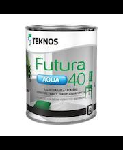 Ovi- ja Kalustemaali Teknos Futura Aqua 40 PM1 0,9 l