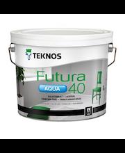 Ovi- ja Kalustemaali Teknos Futura Aqua 40 PM1 2,7 l