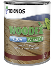 Teknos Woodex Aqua wood oil 0,9l harmaa