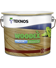 Teknos Woodex Aqua wood oil 2,7l harmaa