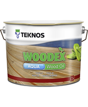 Teknos Woodex Aqua wood oil 9l harmaa