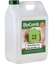 Maalipesu 5l biocomb ulkokäyttöön, mikrobikasvustoa tuhoava