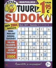 Hyvän Tuurin Sudoku aikakauslehti