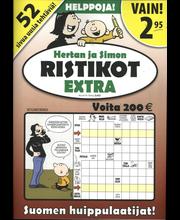Hertan ja Simon Ristikot Extra Aikakauslehti