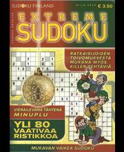 Extreme Sudoku ristikko