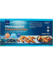 Fileekalapuikot 250 g/10 kpl MSC