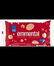 Kotimaista punaleima Emmental juusto  500 g