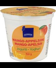 Mango-appelsiini jogur...