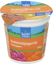 Kotimaista jogurtti 150g hedelmä laktoositon