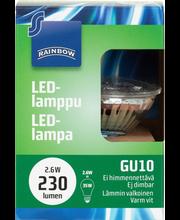 LED-lamppu 3W GU10, kohdelamppu