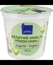 Rainbow Päärynä-vaniljajogurtti 150 g