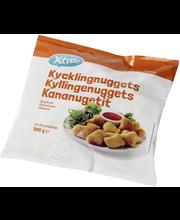X-tra Kananugetit 500 g, 23-26 kpl