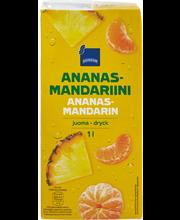 Ananas-mandariinijuoma 1l