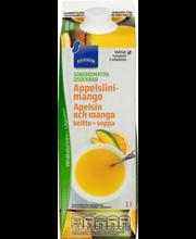 Appelsiini-mangokeitto 1l