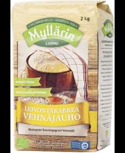 Myllärin 2kg Luomu Leivontakarkea Vehnäjauho