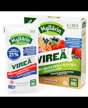Myllärin 200g (4x50g) Vireä Vadelma-Mustikka-Kaura Annospuuro