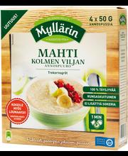 Myllärin 200g (4x50g) Mahti Kolmen Viljan Annospuuro