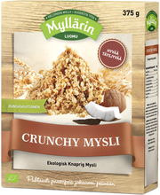 Myllärin 375g Luomu Crunchy Mysli