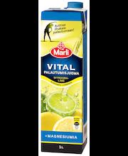 Marli Vital 1L sitruuna-lime palautumisjuoma +Magnesium